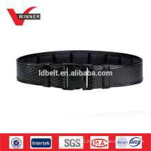 Leather military police belt
