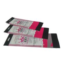 Auto-adhésif opp plastique résellable opp sac