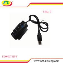 USB3.0 al adaptador del cable del convertidor del IDE de SATA