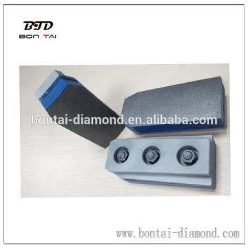 Diamond fickert metal for stone and granite