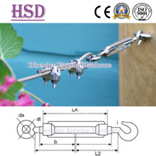 Ss316 &Ss304 Precision Cast DIN1480 Type Turnbuckle with H/E