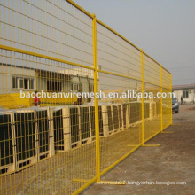 canada standard 60x150mm mesh infill flexible welded galvanized construction temporary fence panels for Canada