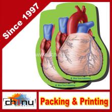 Notas de Heart Stick, 2 paquete-100 hojas por paquete (440043)