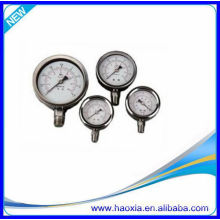 Pneumático Manómetro de pressão de aço inoxidável para o preço barato