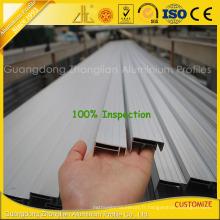 Profils en aluminium anodisés d'extrusion pour le cadre solaire en aluminium