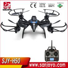 JJRC H50 RC Drone com câmera de 2MP / 5MP 720p Wifi FPV câmera e 5.8g quadcopter FPV JJRC H50CH H50WH