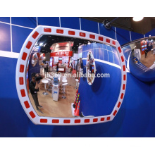 12x18 inch plastic outdoor traffic reflective convex mirror