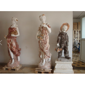 White Marble Stone Carving Sculptures