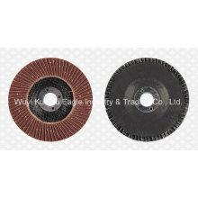 Discos abrasivos de aleta de óxido de aluminio (cubierta de fibra de vidrio 22 * 16 mm 40 #)