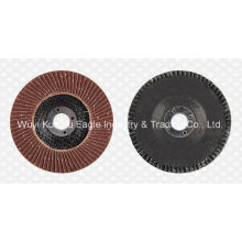 Aluminium Oxide Flap Abrasive Discs (fibre glass cover 22*16mm 40#)