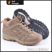 Khaki Color PVC Outsole Hiking Shoe with PU Upper (SN5241)