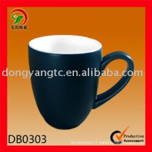 Factory direct wholesale Eco matted glaze ceramic promotional cups