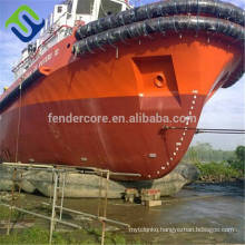Rubber pontoon launching air balloon Marine Airbags for Marine Projects