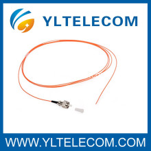 Corde de correction optique de fibre de LC MM, tresse LC multimode LC Fan-out pour FTTH