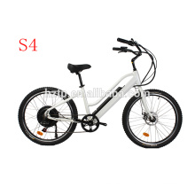 Popular style fat e bike hidden battery electric beach cruiser electric bikes 2018