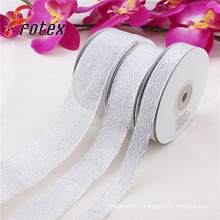Hot Sell Silver Metallic Ribbon