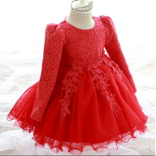 Christmas Garments Party Clothes For Kids New Year 2017 Gowns For 2Y Baby Gilrs Princess Pink