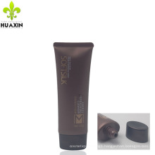 professional 120g oval man cleanser plastic packaging tube