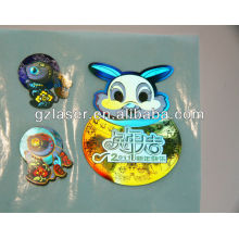 Holographic machine metal label,metallized label paper