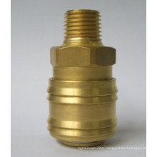 German type brass quick connectors