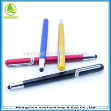nova tela de brinde promocional barato projeto toque de caneta com material plástico