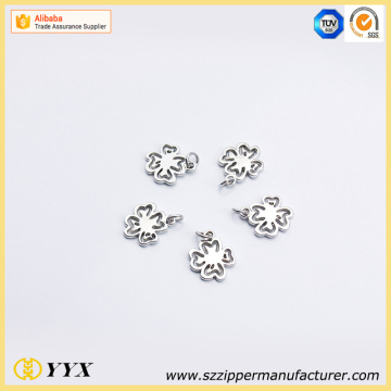 customized logo shape puller zipper slider