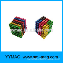 High quality multi color 5mm ball magnets