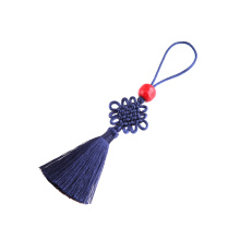 Colorful Small Chinese knot tassel with beads