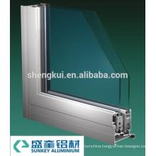 2000 Sliding Windows Aluminum Profiles Aluminum Extrusions
