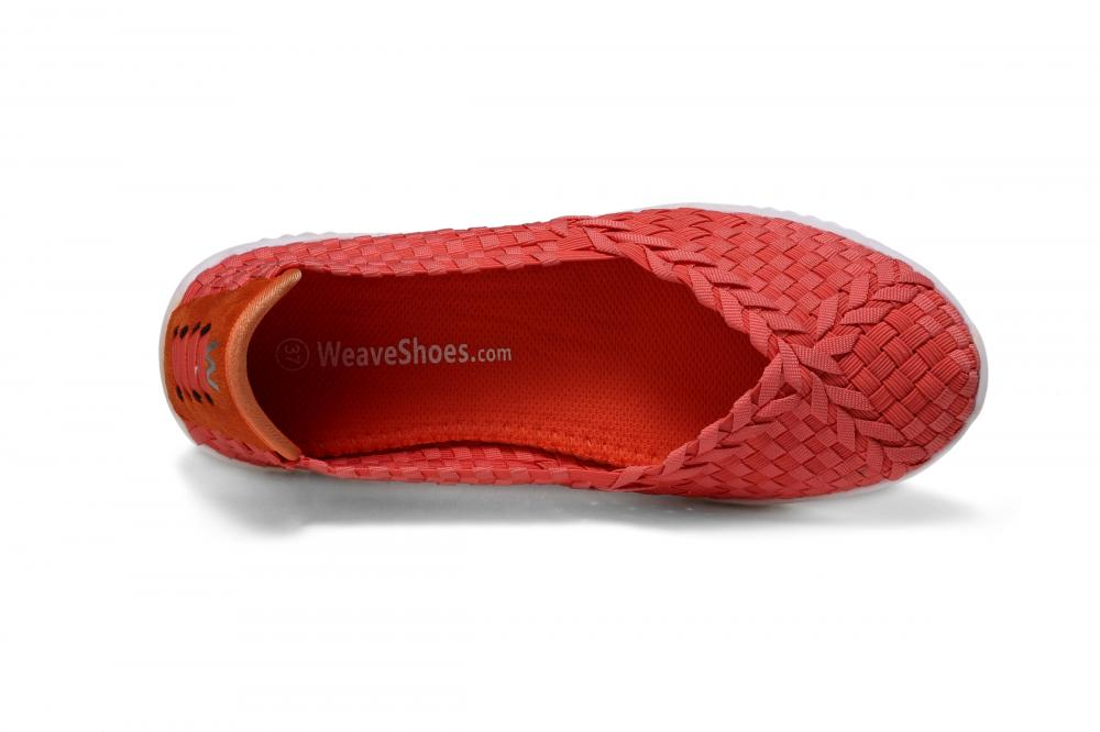 Cross Strap Elastic Woven Pumps