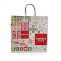 china products christmas brown fancy gift paper bag for gift