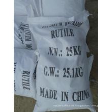 Fábrica de Anatase / Rutile del dióxido de titanio del mejor precio de la alta calidad