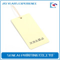 SenCai pure clean surfacing tag with some small pattern in bottom