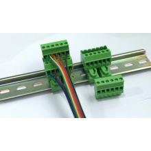 Din rail mounted type Vertical Pluggable terminal block