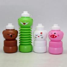 650ml tragbare Kunststoff Wasserflasche, Sport direkt, 2015 neue Produkte