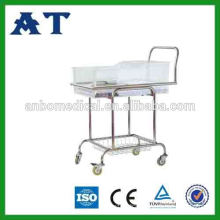 medical stainless steel children baby cots and cribs