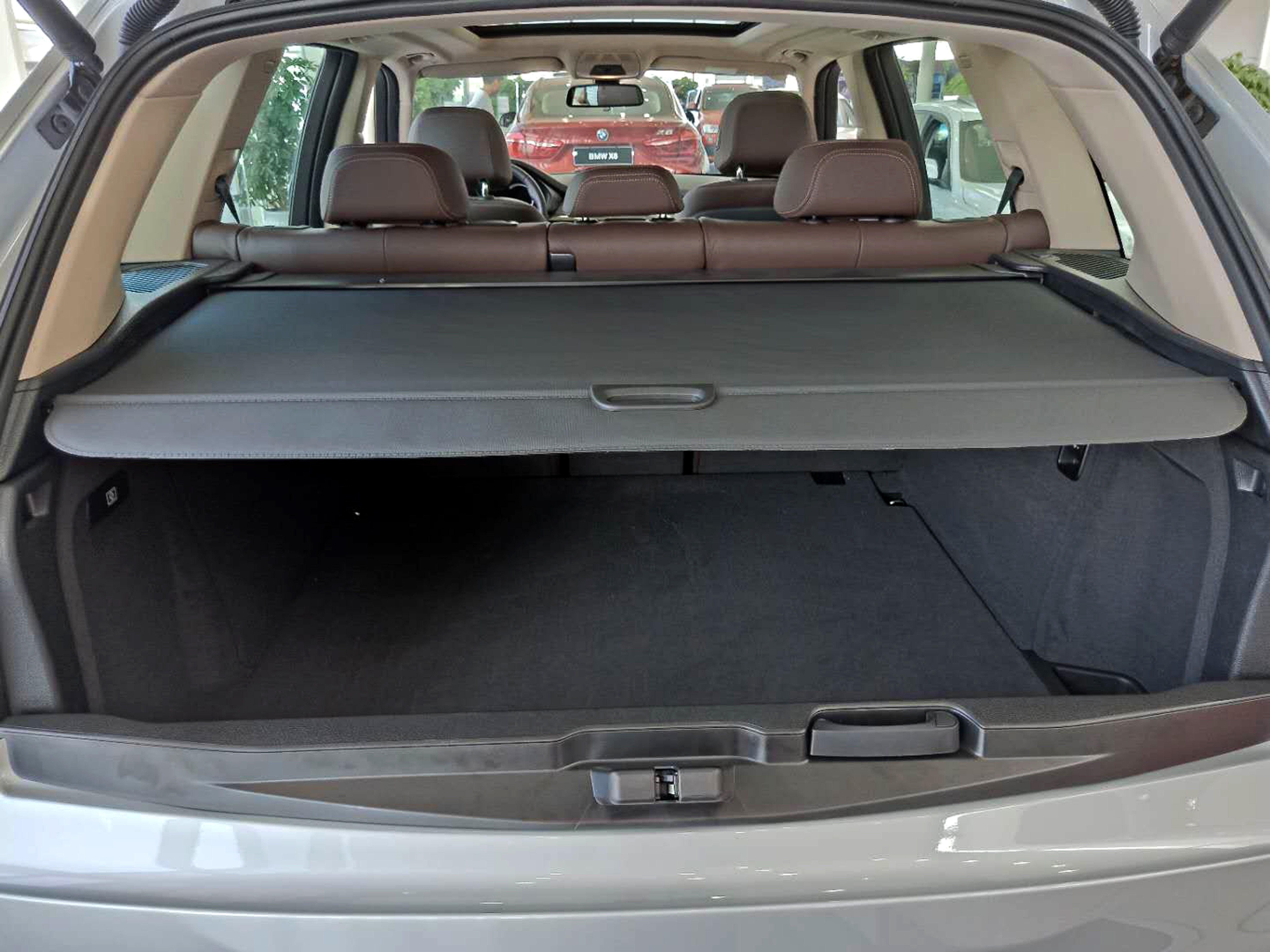 SUV Retractable Adjustment Trunk Cargo Cover