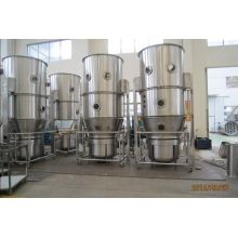 Fluidized bed wet granulating machine