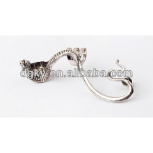 Alloy Vintage Ear Piercing Cobra Ear Clip