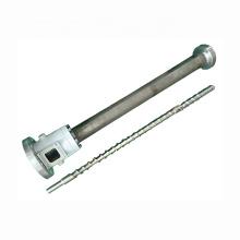 Barril de tornillo de soplado de película simple de PE / PP / PVC 70-28