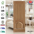HDF MDF Nature Teak  Wholesale Door Skin