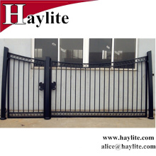 большие дверные конструкции железные ворота используется