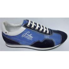 Zapatos planos azules para hombres