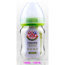150 мл нейтрального стекла Boroslicate детские бутылочка