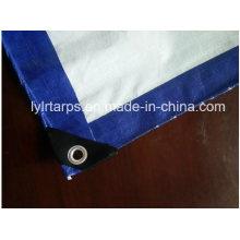 Hot Selling! Blue/White PE Tarpaulin Sheet, Finished PE Tarp Cover, Poly Tarp