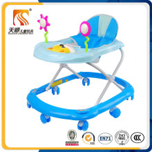 China New Model Cheap Baby Walker with 8 Wheels