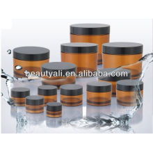 3ml,5ml,10ml,15ml,20ml,30ml,40ml,50ml,60ml,100ml,200ml,240ml,300ml,350ml Colored PETG Jars with black cap