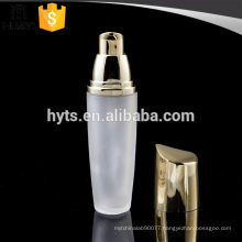 35ml foundation lotion glass bottle with UV sprayer