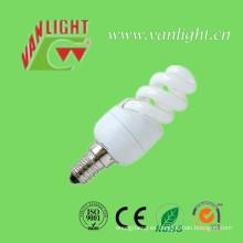 Luces T2 7W CFL luz (VLC-MFST2-7W) ahorro de energía espiral completo