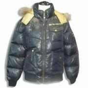 Women's Down Jacket with Detachable Hood